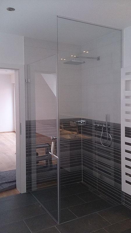 duschen aus glas glaserei bayrhof. Black Bedroom Furniture Sets. Home Design Ideas