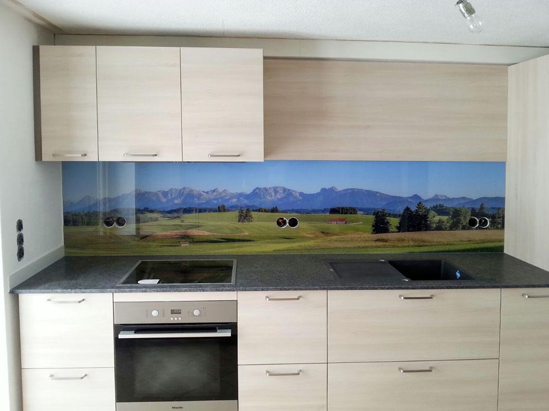 Küchenrückwände - Glaserei Bayrhof